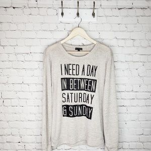 Fifth Sun Saturday/Sunday sweater